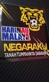 Harimau Malaya Negaraku Windscreen Sticker Decal