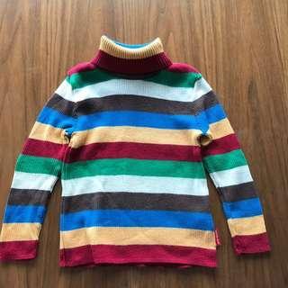 全新:日本Miki House 針織襯衫