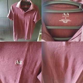 Authentic Armani Exchange Polo Shirt M