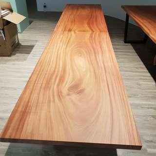 Customized Unique Solid wood Grain Table