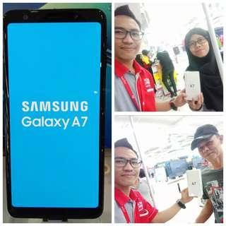 Samsung Galaxy A7 2018, CicilAn Bisa 0% Tanpa Kartu Kredit