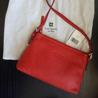 Kate Spade Red Sidebag