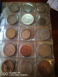 Old Coins 90 pcs ex EU