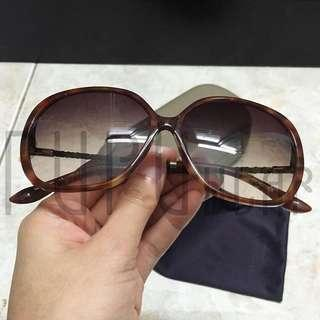 Charles&keith sunglasses brown braid UV PUPUwear