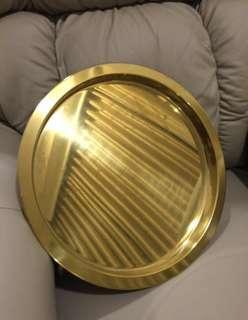 Ikea Gold Tray