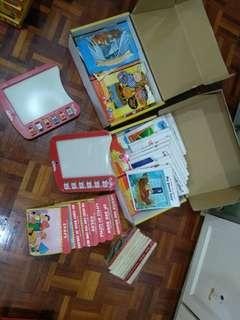 Phinken Learning Books and Boards