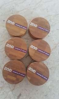 ZAO eye shadow $20 for 6 eyeshadows