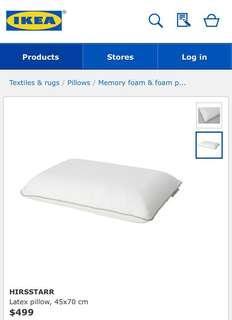 *宜家枕頭 IKEA Pillow (used once)