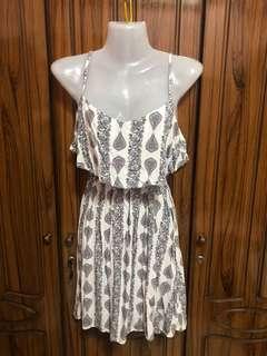 Cotton on floral theme dress