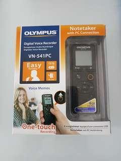 Olympus voice recorder VN-541PC