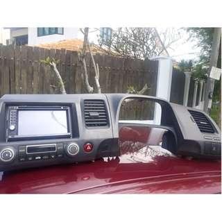 Double din complete cover Honda Civic FD
