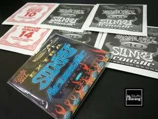 (NEW)Ernie Ball 2150 Extra Slinky Phosphor Bronze Acoustic Guitar Strings #BlackFriday100
