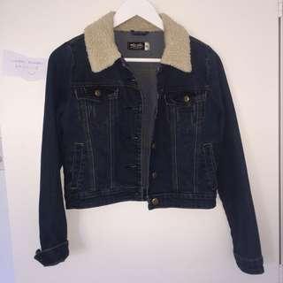 borg collar jacket
