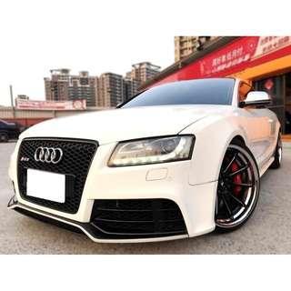 Audi  A5  2.0T Quattro  '10  白