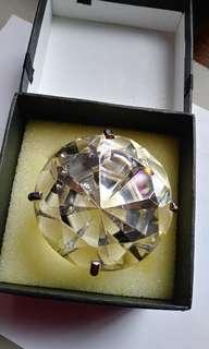 閃爍耀眼的巨型鑽石手飾擺設
