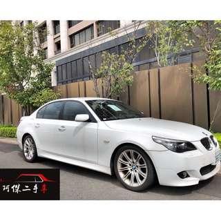2007年 BMW 日規 線傳 525I 白