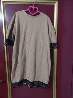 🚚 Zara咖啡色洋裝