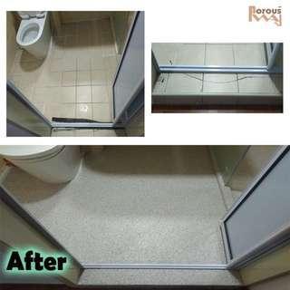 Epoxy Flake (toilet repair)