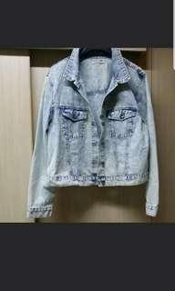 MAX Denim jacket 淺藍色牛仔外套