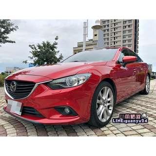 2014 Mazda 6 2.2 柴油旗艦型 車側盲點/ACC跟車系統/後座出風口