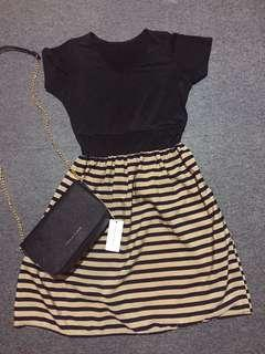 Casual Stripe Dress