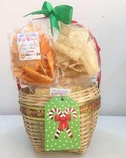 Wun-tun trio basket for christmas