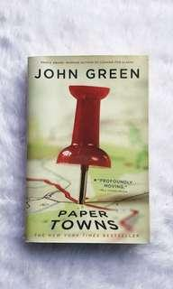 Paper Towns by John Green book