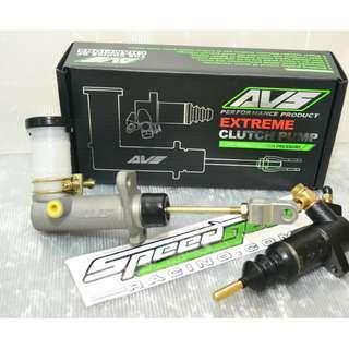 AVS Clutch Slave Master Cylinder Pump Mitsubishi 4G63 Evo123 Eclipse Talon 4G13 4G15 4G91 4G92 4G93 Mivec GSR