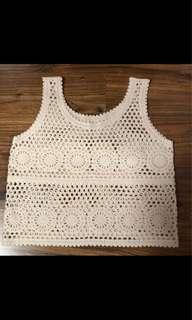 BN Knitted Crochet Top