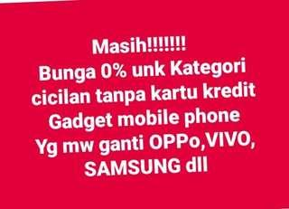 Kredit HP Samsung Oppo dll