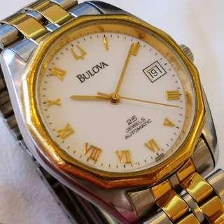 Swiss Made Bulova Automatic Mechanical Watch (瑞士製寶路華自動機械手錶)