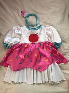 Cupcake dress costume
