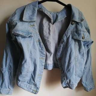 Quality Cropped Denim Jacket