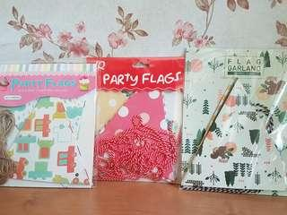 Party Flags/ Buntings