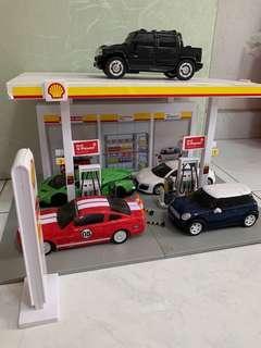 Shell power full set petrol kiosk / station