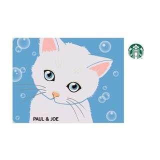 🚚 Paul & joe 貓咪隨行卡