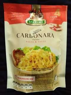 San Remo Carbonara Non Halal