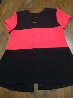💜Plus size long blouse
