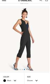 Two Toned Cut Out Jumpsuit