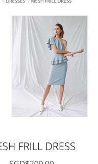 BNWT Mesh Frill Dress