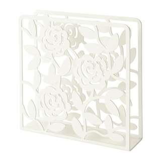 IKEA Rose Napkin Holder - White