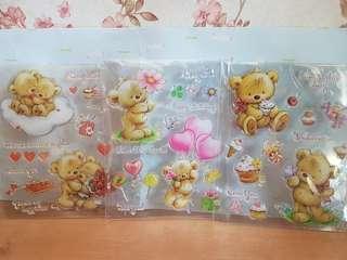 Bear Scrapbooking Stamps