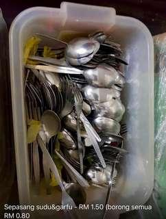 Spoon and forks