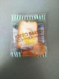 🚚 Japan tokyo bakery mini butter toast squishy