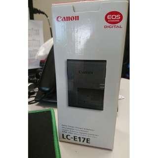 Canon LC-E17E charger for LP-E17 battery EOS-M3, M6, M5, EOS-750D, 760D