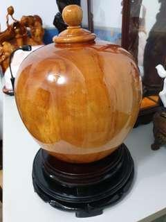 🚚 台灣黃檜聚寶盆