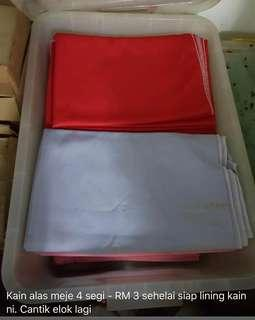 Table cloth (for square shape table)