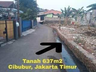 Tanah di Cibubur, Ciracas, Jakarta Timur