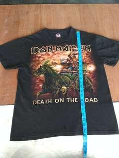 T-shirt lron maiden death on the road