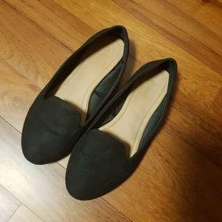 Black Rubi Flats